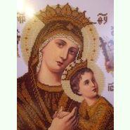 Богородица Неустанной Помощи (сепия)