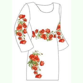 Льняное белое платье ПлЛ-009Б
