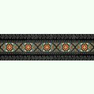 Домоткана чорна жіноча спідниця СЖд-064Б