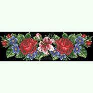 Лілеї, троянди, незабудки ПС-361Ч