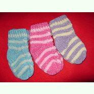Носочки вязаные для малышей