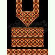 Атласна чорна жіноча сукня ПЛ-029Ч
