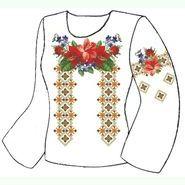 Белая женская вышиванка ВЖПс-024Б