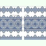 Атласная заготовка для вышивания рушника под каравай ТР066ан4599