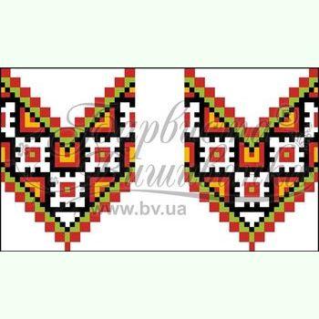 Атласная заготовка для вышивания рушника для свадебных букетов и декора ТР130ан1025