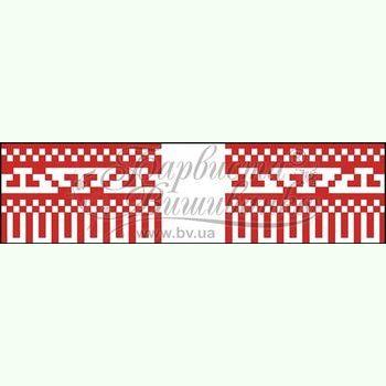 Атласная заготовка для вышивания рушника для свадебных букетов и декора ТР142ан1025