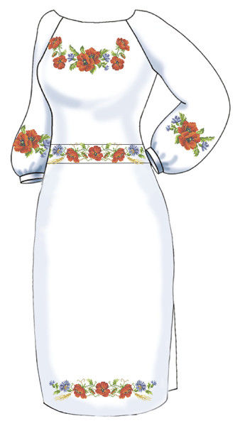 Жіноча сукня ВПЖ-47   Княгиня Ольга   Платья   Заготовки под вышивку ... ab33fe61299b6