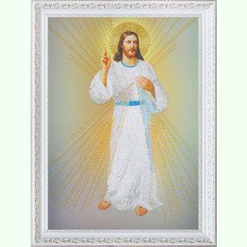 """Ікона """"Ісусе, уповаю на Тебе"""" P-307"""
