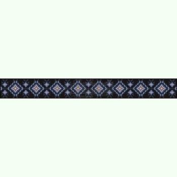 Домоткана чорна жіноча спідниця СЖд-125Ч