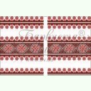 Домотканая заготовка для вышивания рушника под каравай ТР088дн4599