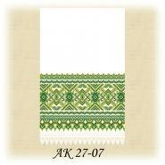 АК 27-07. Заготовка до традиційного рушника