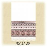 АК 27-20. Заготовка до традиційного рушника
