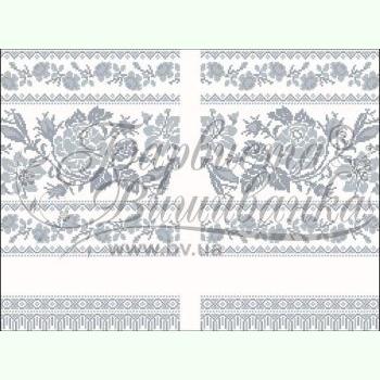 Домотканая заготовка для вышивания рушника для свадебных икон ТР121дн3099