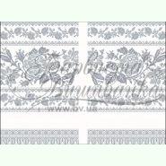 Домоткана заготовка для вишивання рушника для весільних ікон ТР121дн3099
