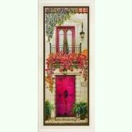 Цветущий балкон R-028