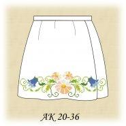 Заготовка к юбке детской АК 20-36