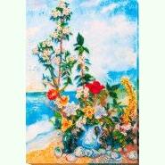 Цветы на берегу AB-635