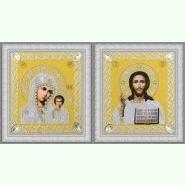 Набор венчальных икон (золото) Р-365