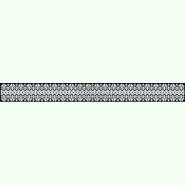 ПС082лЧ. Лляний чорний жіночий пояс