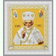 Ікона Святителя Чудотворця (золото) ажур P-369