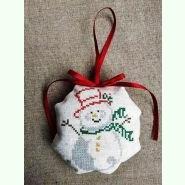 ШНЛ-016. Пошита новорічна іграшка для вишивки бісером.