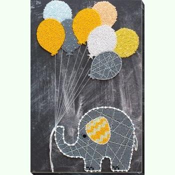 Слоненя з кульками AB-655