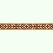 Український степ СЖ039лМ. Лляна бежева жіноча спідниця