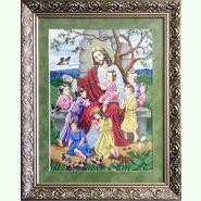 Ісус благословляє дітей ІБД
