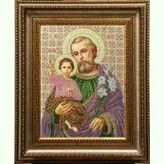 Святой Иосиф с Иисусом