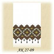 АК 27-09 Д. Домоткана біла заготовка до традиційного рушника