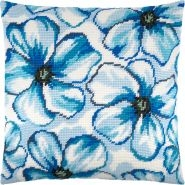 Сині квіти V-239