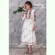 Плаття Магія - 9. Заготовка до білої жіночої сукні