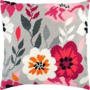 Рожеві квіти V-261