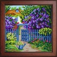 Пейзаж «Хвіртка в саду» BE-19