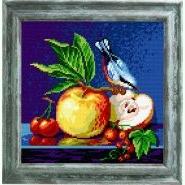 Синьохвіст на яблуках BE-36