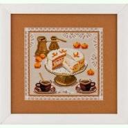 Торт, мандарини і кава N-2109