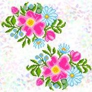 Польові квіти (2 фраґменти) K-343