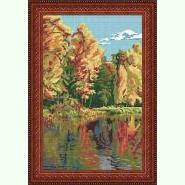 Пейзаж «Золота осінь» S-21