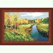 Пейзаж «Золота осінь», І. Лєвітан S-39