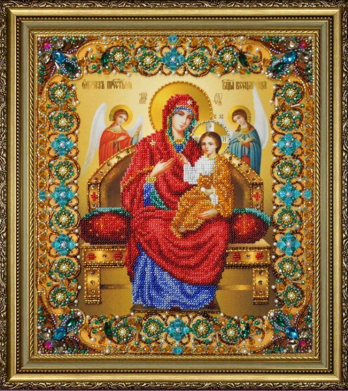 Ікона Божої Матері Всецариця P-415