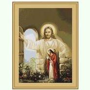 Иисус, стучащийся в дверь B411