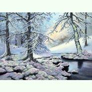 Зимний лес S-020