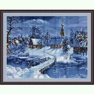 Зимний пейзаж B447