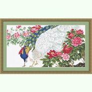 Павлины в цветах B462