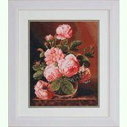 Ваза с розами B488