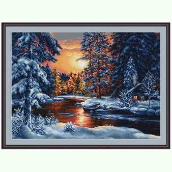 Зимний пейзаж G477