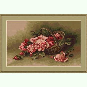 Корзина с розами G483
