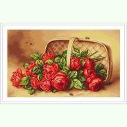 Корзинка с розами G499