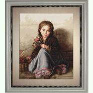 Девочка с цветами G513