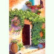Цветущий дворик S-028